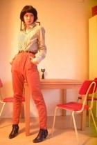 shirt - Monki pants - Topshop shoes