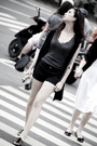 Gray-streetwear-society-top-black-vest-black-streetwear-society-shorts-bla