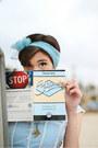 Light-blue-vintage-dress-light-blue-vintage-scarf-cream-forever-21-belt