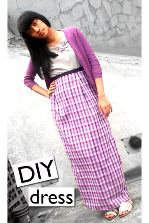 ITC M2 sweater - DIY dress - ITC M2 shoes