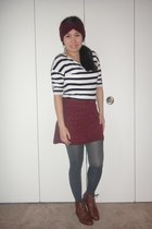 Old Navy tights - H&M skirt - H&M blouse