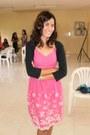 Bubble-gum-mini-dress-dress