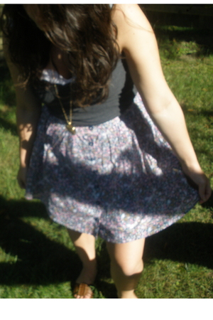 top - Forever21 skirt - Forever21 necklace - Forever21 shoes - top