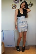 Alexander Wang top - Purple Label skirt - payless shoes