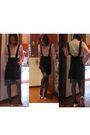 Black-diesel-skirt-pink-kookai-shirt-pink-diesel-blouse-pink-chanel-shoes