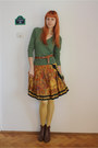Brown-amanda-boots-green-thrifted-shirt-light-yellow-fiore-tights-light-ye