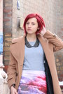 Red-zara-bag-ruby-red-jeffrey-campbell-boots-tan-topshop-coat