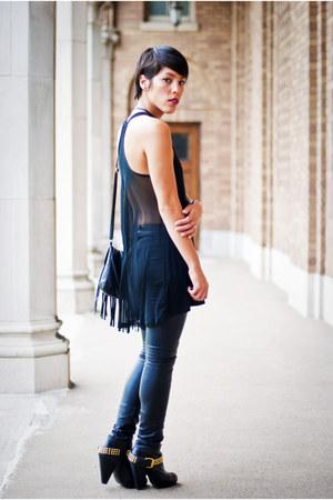Dolce Vita boots - H&M pants - Hellz top
