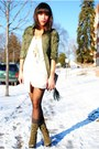 Clubcouturecc-dress-steve-madden-boots-jacket