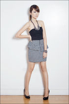 black Topshop top - black httpcocobellemanilamultiplycom skirt - silver httpcoco
