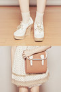 White-boat-tonic-wedges-neutral-clothes-for-the-goddess-dress