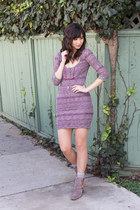 pink free people dress