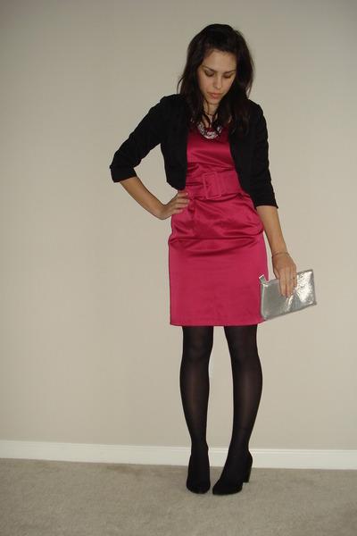 Cocktail dresses black tights