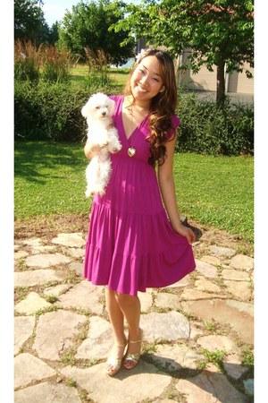 magenta sundress New York & Company dress