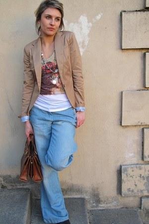 Zara jacket - flare ICodebyIKKS jeans