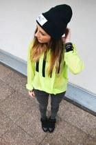 asos blouse - Zara jeans
