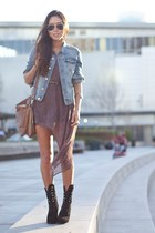 threadsence dress - denim H&M jacket