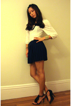 top - H&amp;M skirt - Steve Madden shoes