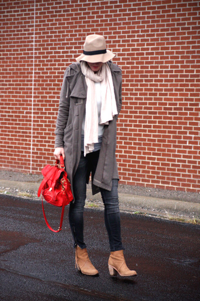 PROENZA SCHOULER bag - Dolce Vita boots - Mike and Chris coat - Zara jeans