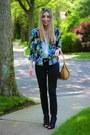 Black-j-brand-jeans-ivory-silk-zara-blouse