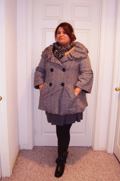 Burlington coat factory coat - The Wild Pair scarf - Dillards top - Target jacke