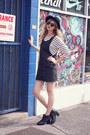 Black-chelsea-boots-black-overall-vintage-dress-black-fedora-vintage-hat