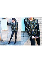sequin Laurence Kazar jacket