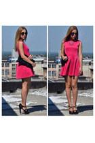hot pink Sheinside dress
