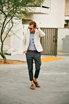 linen H&M jacket