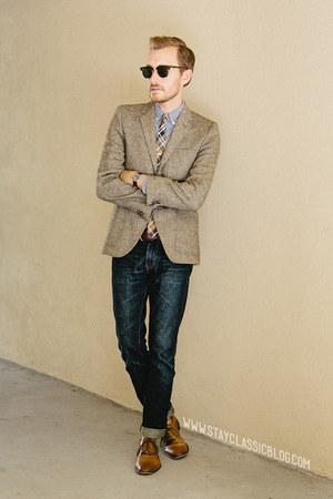 tweed H&M blazer