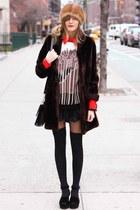 black Tea and Tulips sweater - crimson Tea and Tulips coat