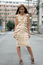 Bellamanila dress - Folded & Hung shoes
