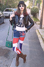 Brown-cowboy-boots-red-union-jack-romwe-leggings-green-bag