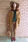 Brick-red-boots-tawny-vintage-coat-camel-h-m-hat-bronze-bag