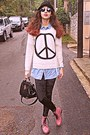 Pink-oasap-boots-white-peace-sign-romwe-sweater-black-velvet-romwe-leggings