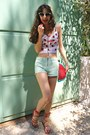 Red-watermelon-diy-bag-lime-green-polka-dot-zara-shorts