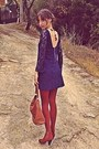 Burnt-orange-h-m-boots-navy-lace-zara-dress-burnt-orange-tights