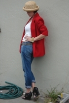 no tag hat - alfred dunner blazer - from shotwell in SF accessories - Paper Deni