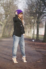 Sky-blue-boyfriend-river-island-jeans-purple-knitted-ebay-hat