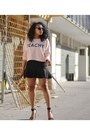 Light-pink-h-m-sweatshirt-black-h-m-skirt