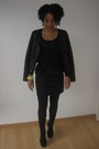 Leather-pimkie-jacket-peplum-h-m-skirt-h-m-t-shirt-h-m-heels