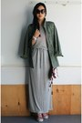 Heather-gray-maxi-heidi-klum-x-new-balance-dress