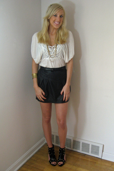 Forever 21 top - Forever 21 necklace - Forever 21 skirt - Forever 21 shoes - For