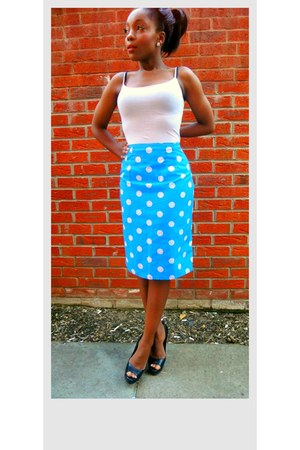 blue Style Icons Closet skirt