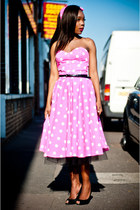 Hot-pink-polka-dotpink-style-icons-closet-dress