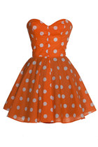 Orange-style-icons-closet-dress