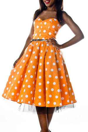 light orange Style Icons Closet by Sisi & Mimi dress