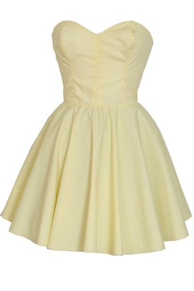 light yellow Styleiconscloset dress