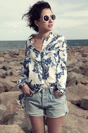 porcelain suiteblanco blouse