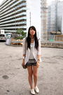 White-random-from-hong-kong-blazer-white-zara-shoes-gray-cotton-on-shorts-